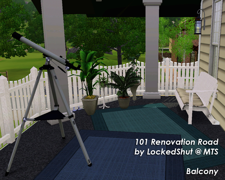 Mod the sims 101 renovation road for Balcony renovation