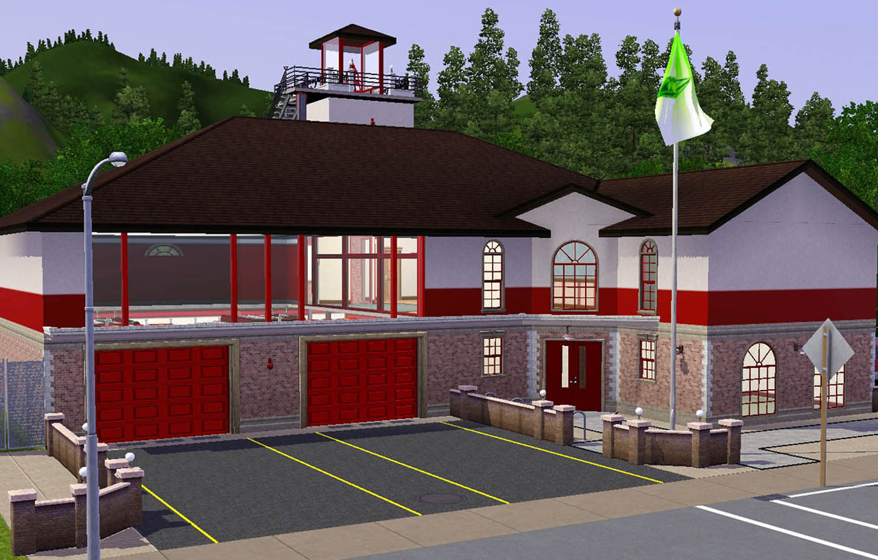 The fire station comes fully furnished fully equipped and fully functional and ready to be put to work