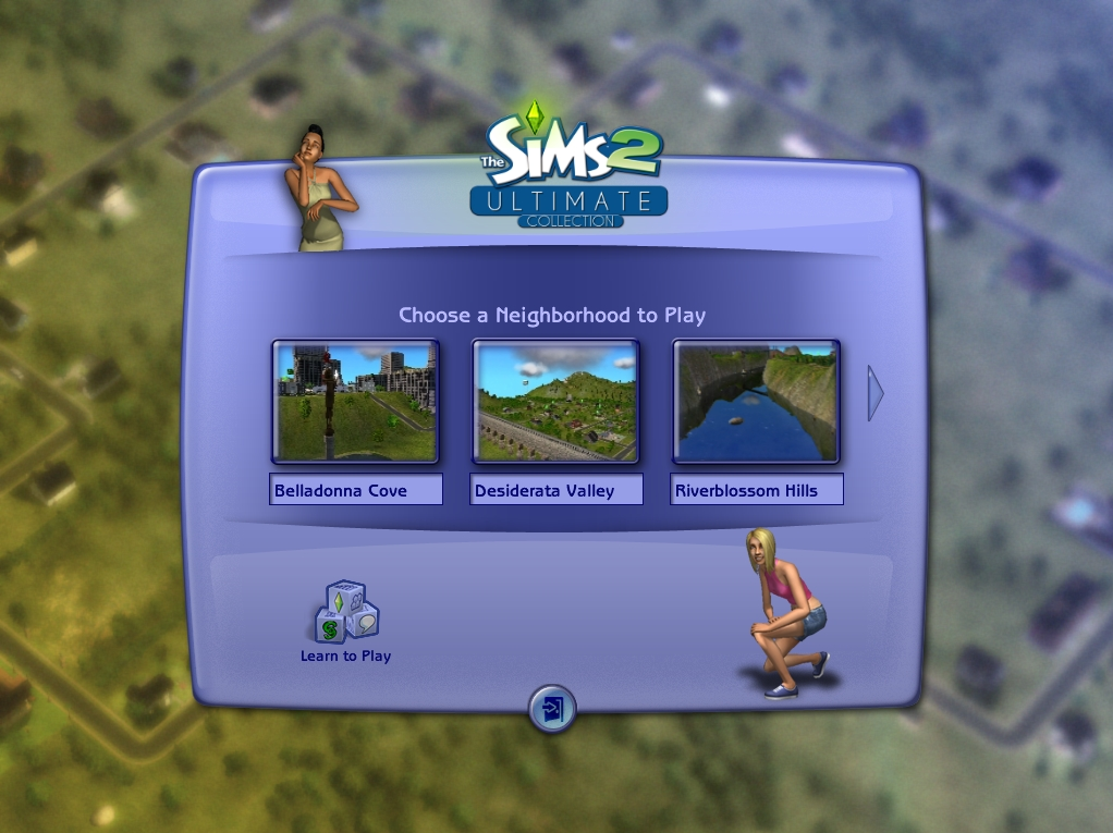 mod the sims the sims 2 ultimate collection loading screen. Black Bedroom Furniture Sets. Home Design Ideas