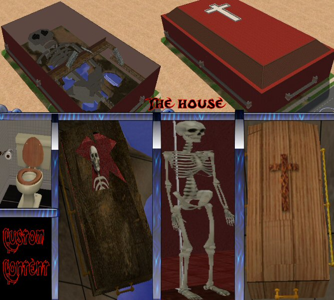 Constrain Floor Elevation Sims 2 : Mod the sims a giant casket with skeleton in it