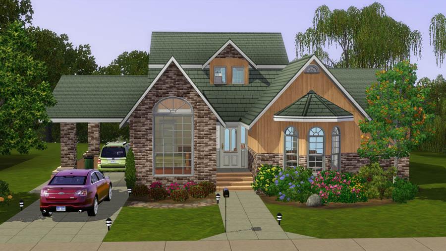 mod the sims - suburban life: the aspen