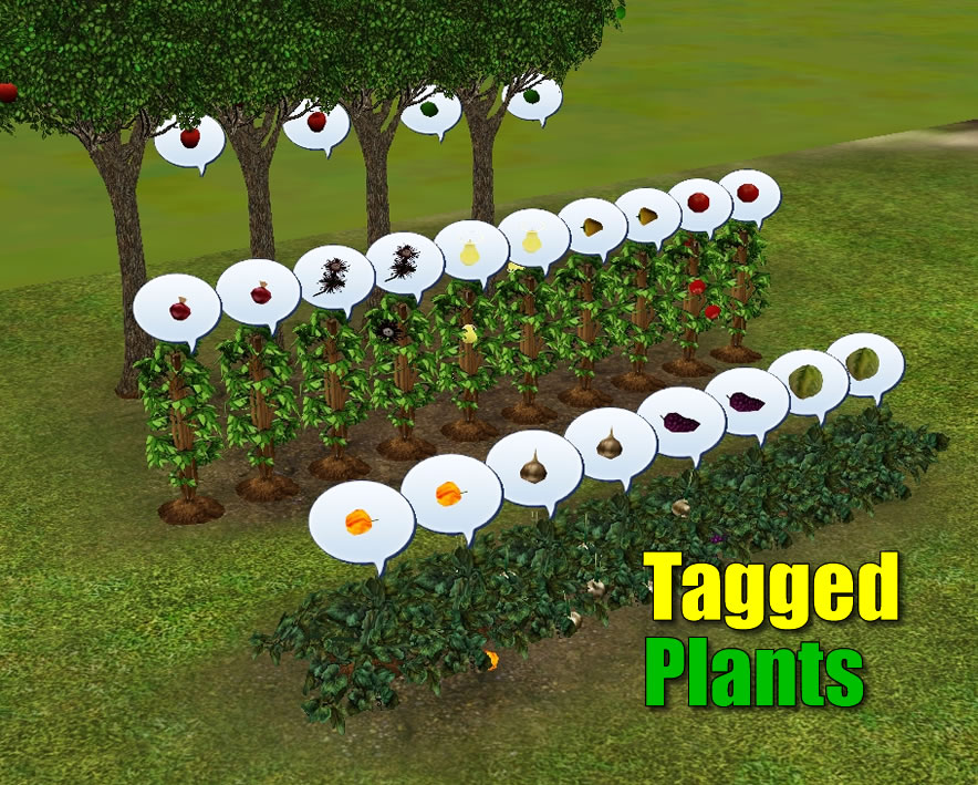 Mod The Sims - Tagged Plants - v1 3 (4th May 2014)