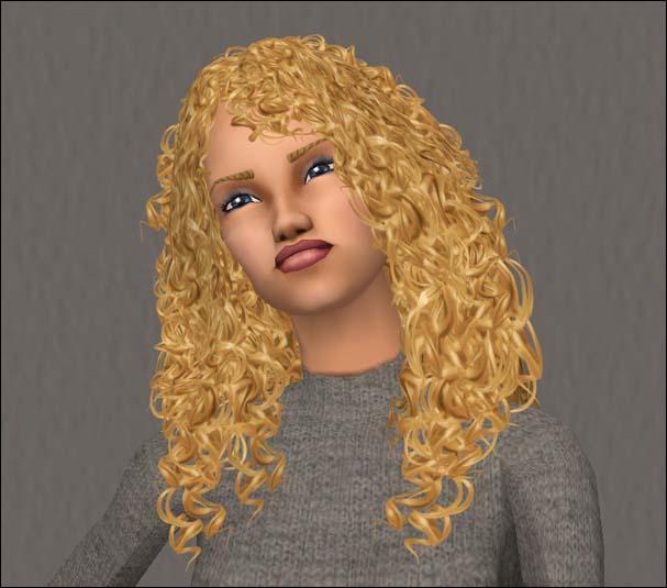 Mod The Sims - Maxis-like hair colour recolours ~ MYOS female hair 15