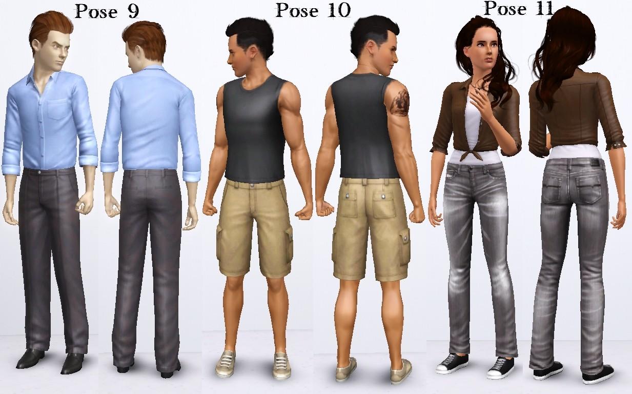 Mod The Sims Twilight Saga No 1 Pose Pack