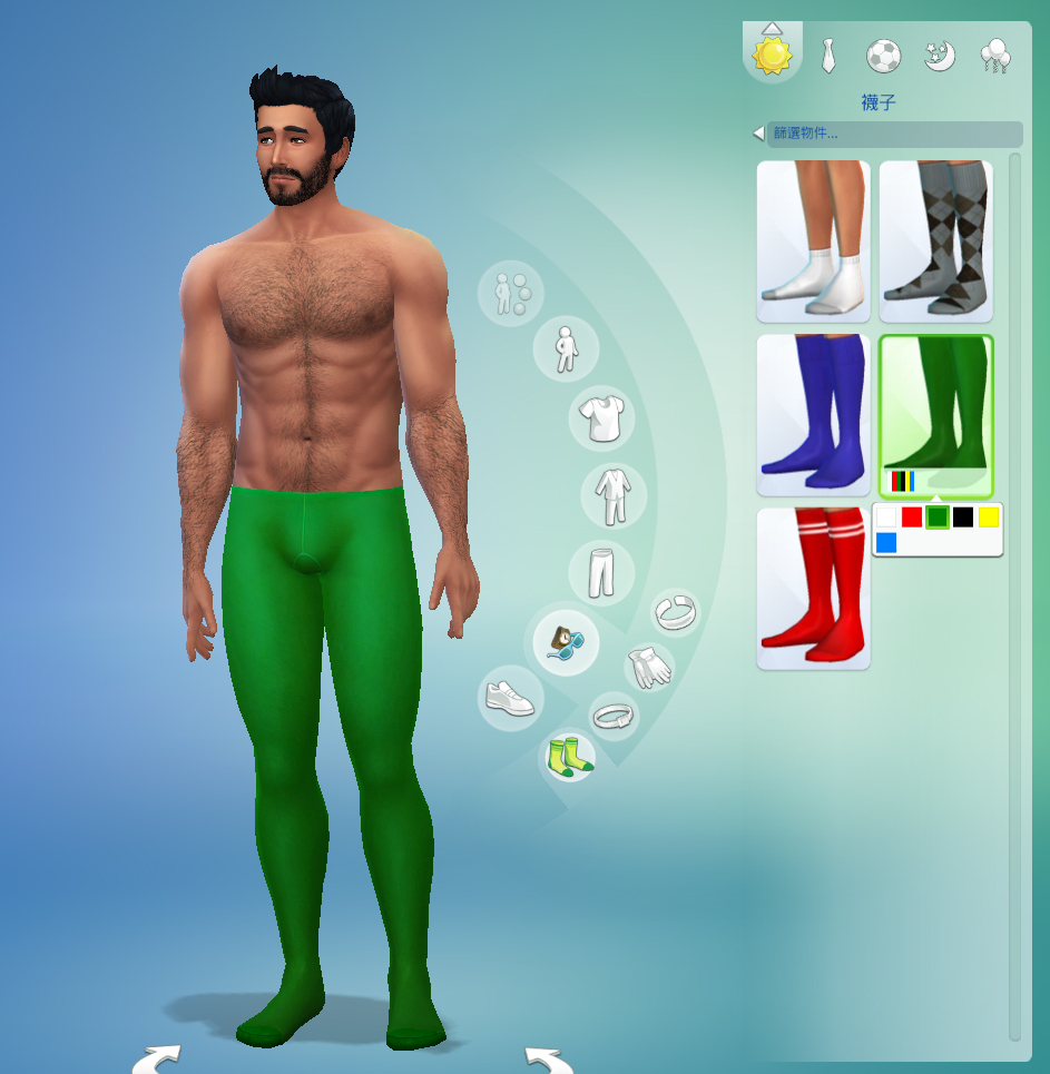 Pantyhose for men sims3