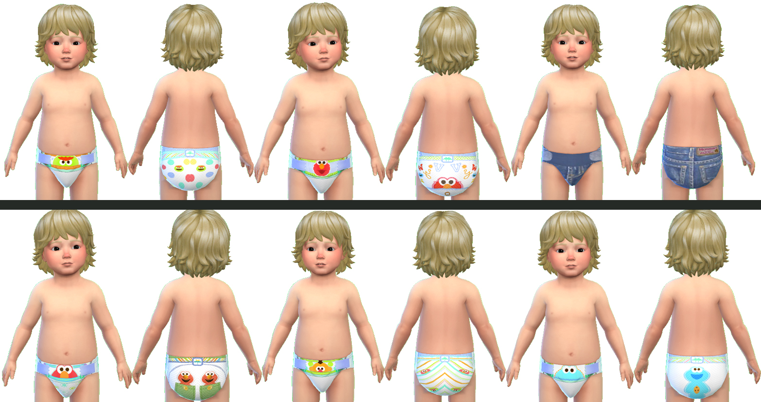 Mod The Sims Pampers Cruisers Diapers