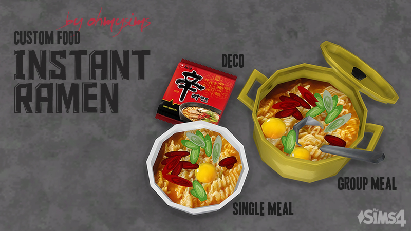 Mod The Sims Instant Ramen