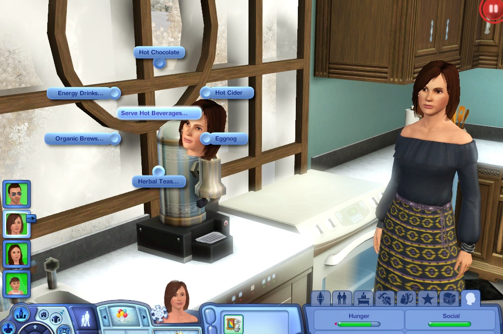 How To Use Coffee Maker In Sims Freeplay : Mod The Sims - (UPDATE: 13-NOV-2015) Seasons & Barista Bar ...