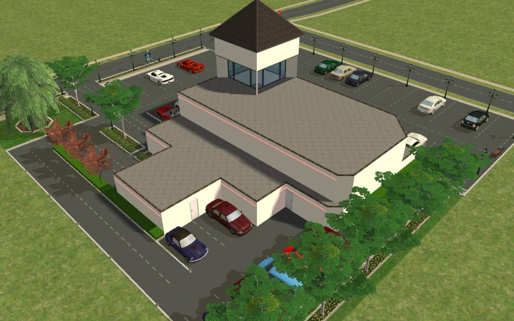 the sims 3 how to put car in carport