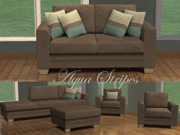 Mod the sims 6 recolours of blake boys annie modular sofa for Sofa bed sims 4
