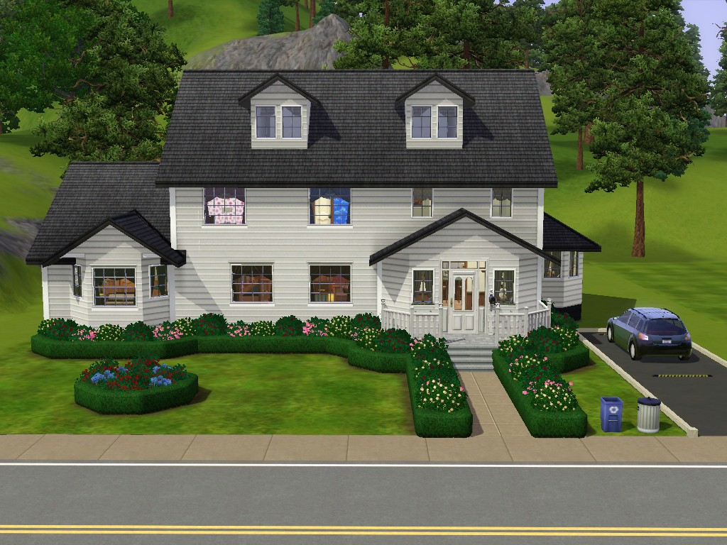 Mod the sims 10 summer drive small family home for A family house