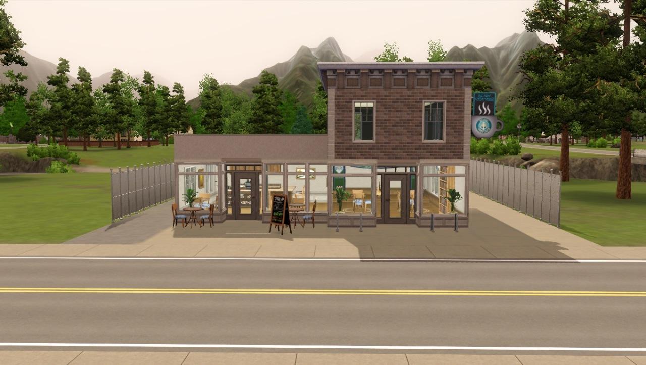 mod the sims le fantastic coffee shop. Black Bedroom Furniture Sets. Home Design Ideas