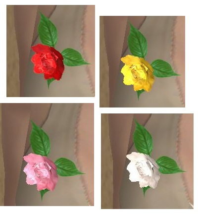 Mod The Sims Rose Corsage Mesh With Recolors