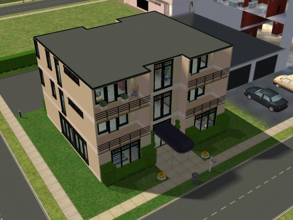 Marvelous Small Apartment Building Mod The Sims Metro Series Cozy Casa  ApartmentsSmall Apartment Building Design
