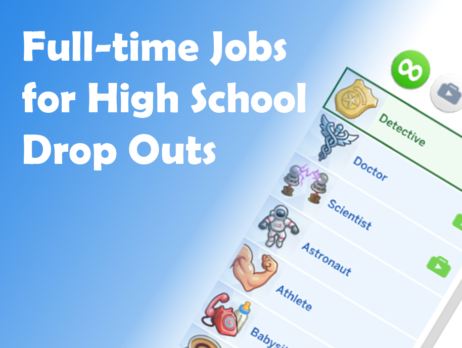 Mod The Sims - Drop Out of High School and Get a Real Job