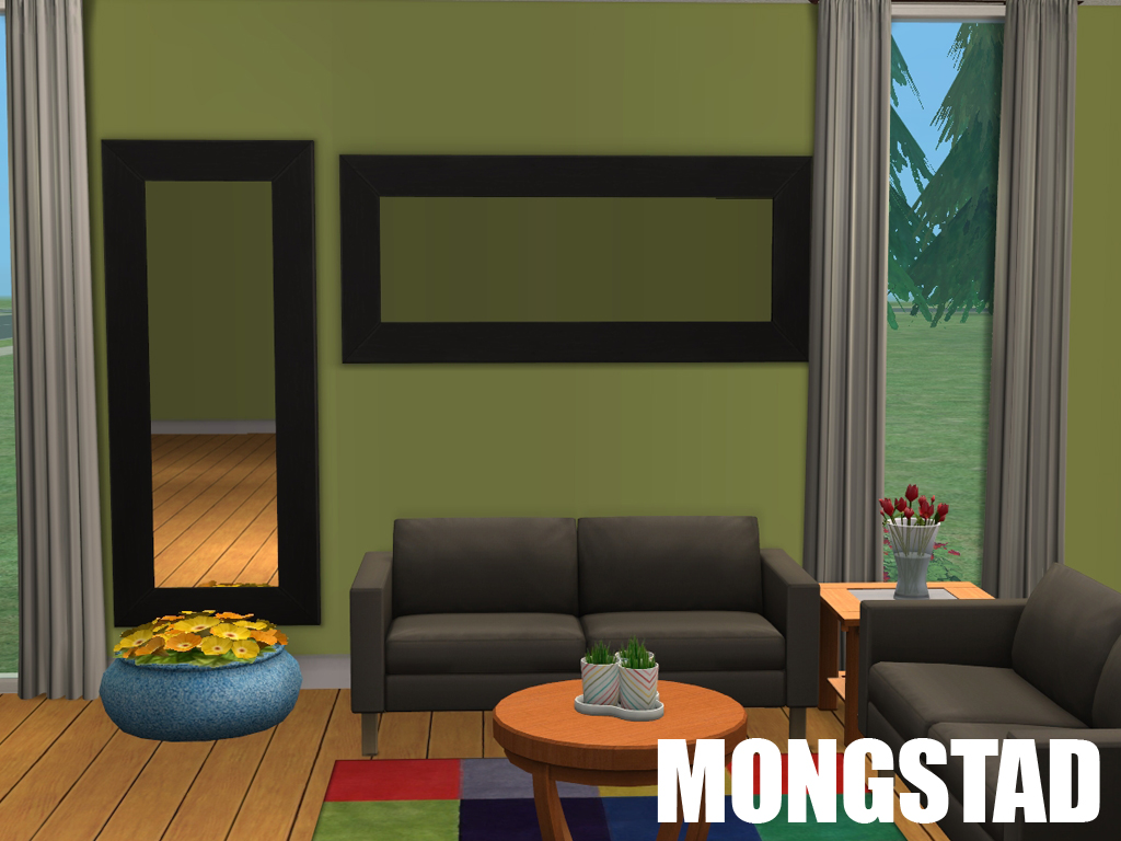 Ikea Mongstad Mirror Mod The Sims Ikea Mirrors Horizontalificated