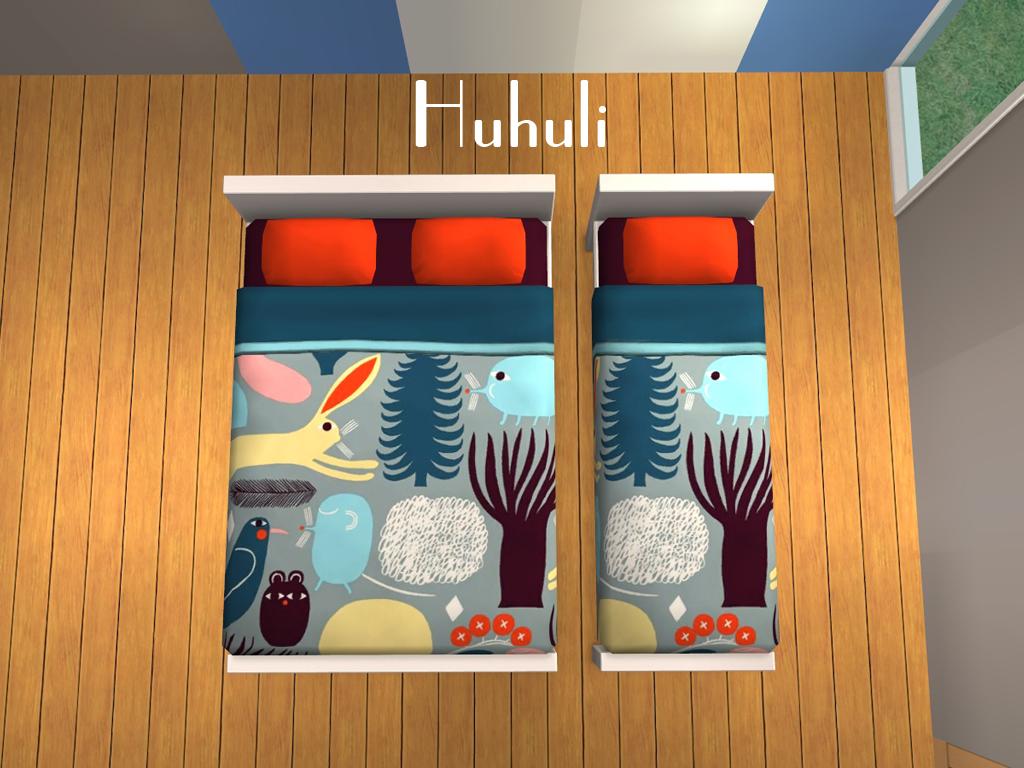 Mod The Sims - Marimekko Bedding
