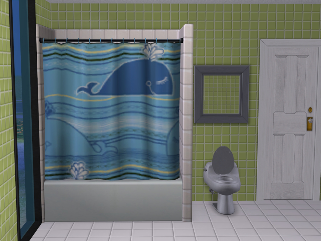 Mod The Sims - Splash Around - Shower Curtains