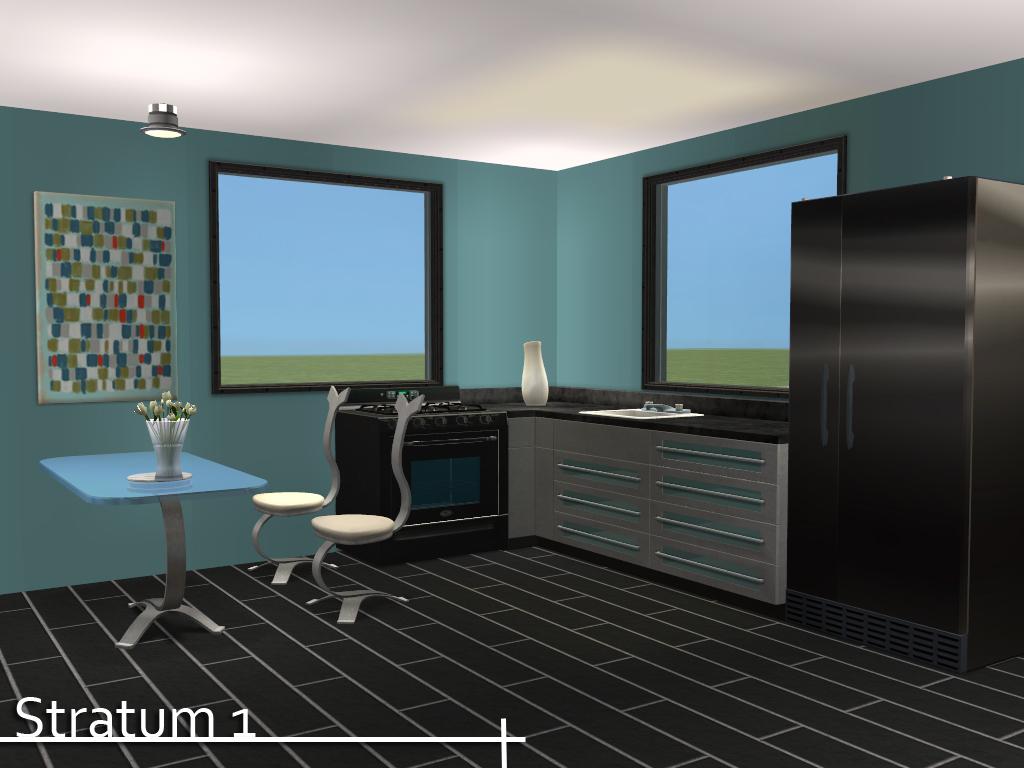 Mod The Sims - Stratum - Modern Floor Set