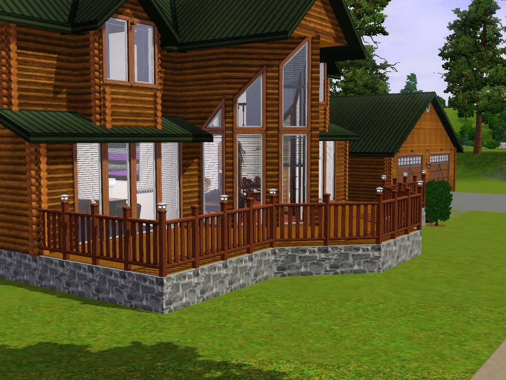Mod The Sims Log Home Accessory Set