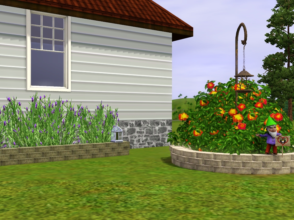 Mod the sims landscape brick for Landscaping bricks