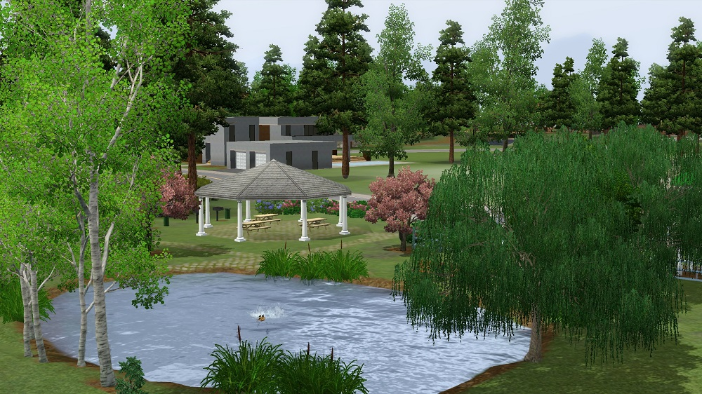 Mod the sims ponderers pond base game for Big fish in a small pond game