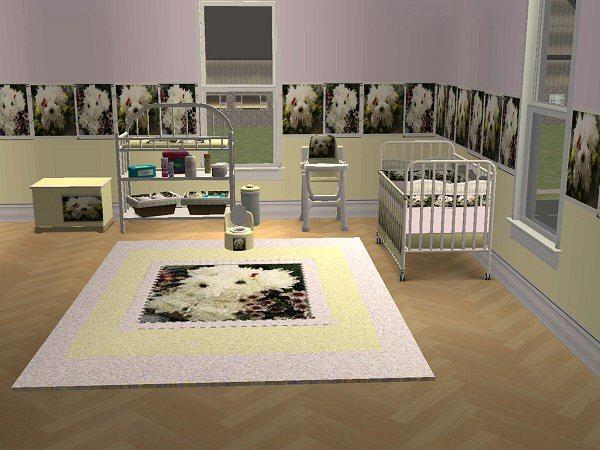 Mcalli Flower Puppy Nursery