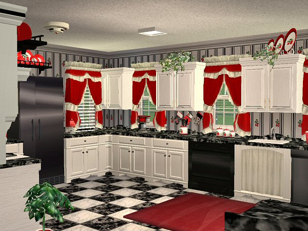 Mod The Sims - McAlli's Very Cherry Kitchen