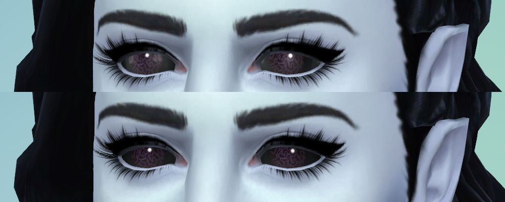 Mod The Sims - Eye specular remover for aliens and vampires