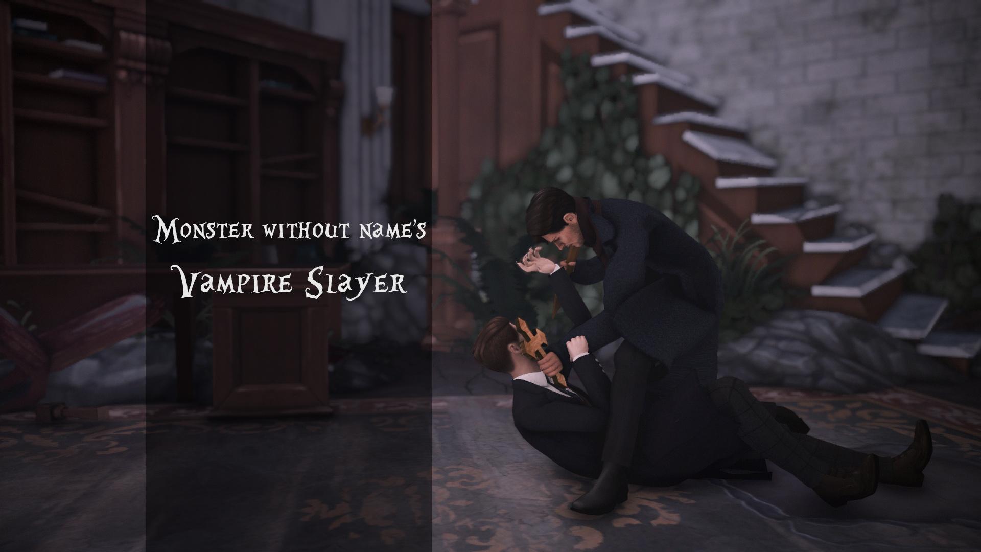 Позы Убийцы Вампиров