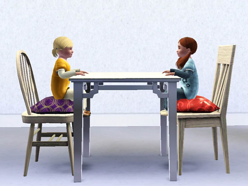 Mod The Sims Toddler Dining Chairs
