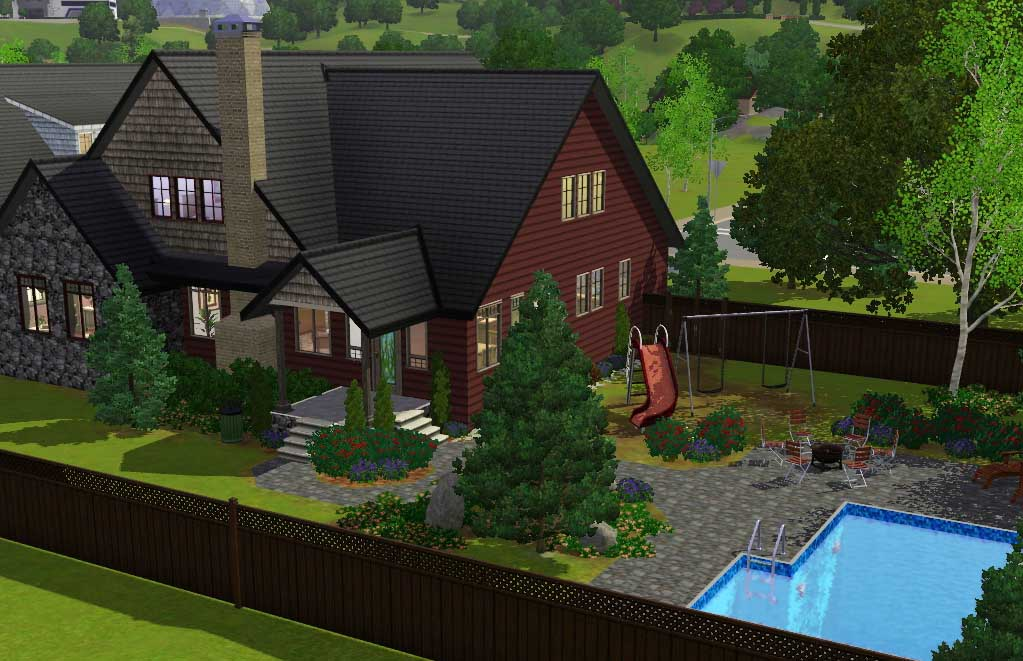 Mod The Sims November 4 Bdr 3 5 Bath Craftsman With