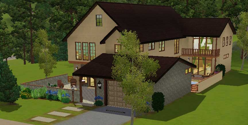 Simple sims 2 house plans house plans for Simple sims 3 house plans