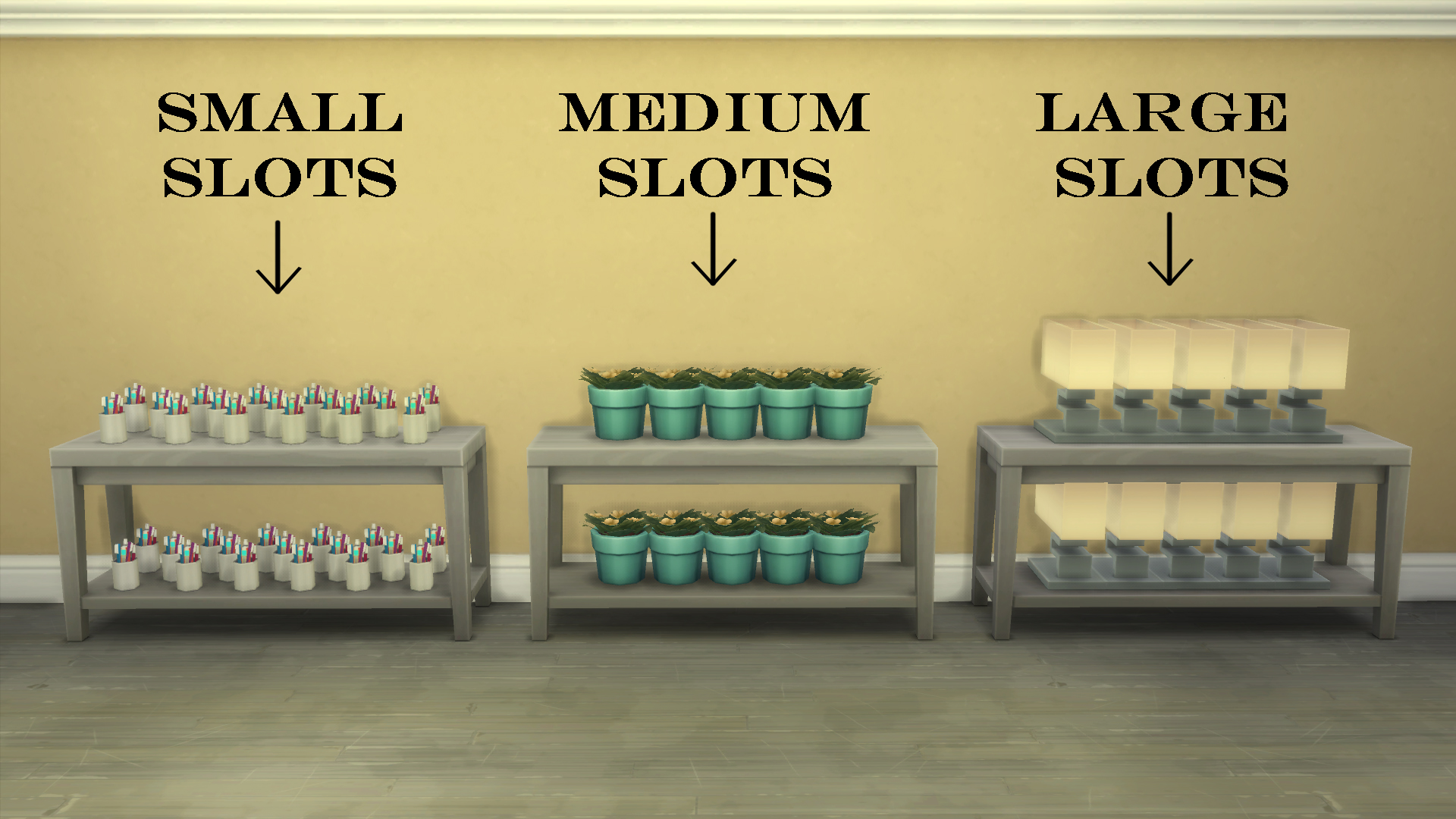 Mod The Sims - More Slots + TV SLOTS!!! for all EA Hallway