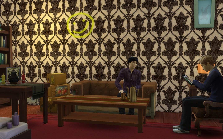 Mod The Sims Bbc Sherlock 221b Baker Street Flat
