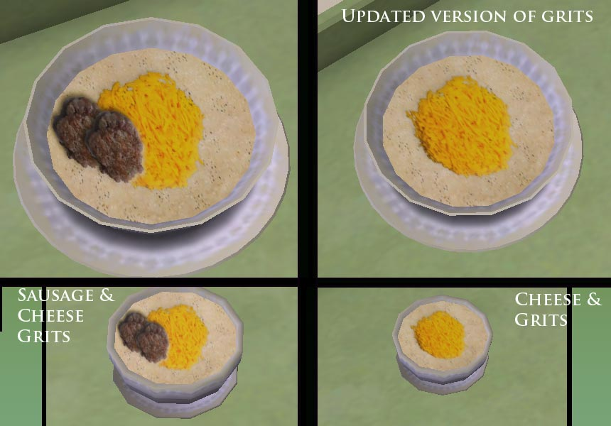 sims 3 custom food s