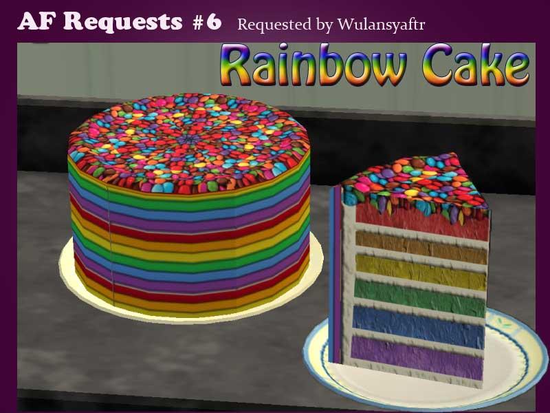 Birthday Cake In Sims
