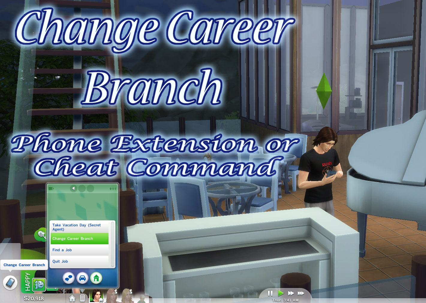 sims 4 career mods