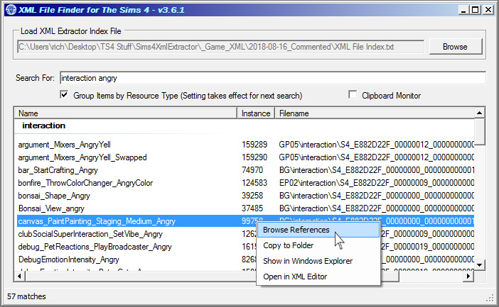 Mod The Sims - XML Extractor for The Sims 4