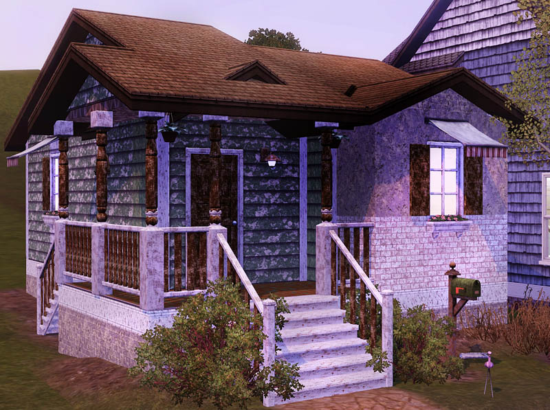 Mod the sims old brickwood vi 107 front hill for Classic house sims 4