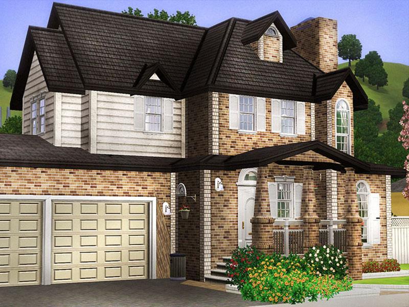 Mod The Sims - Brickwood II (with double garage & basement)