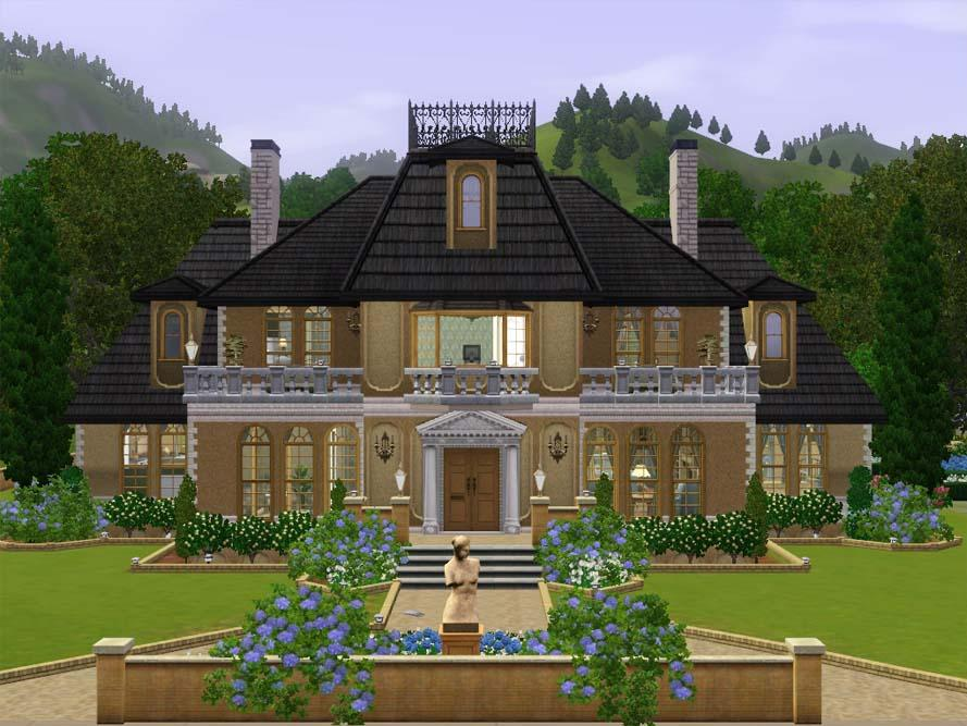 Mod The Sims Maison D Or An Elegant French Mansion