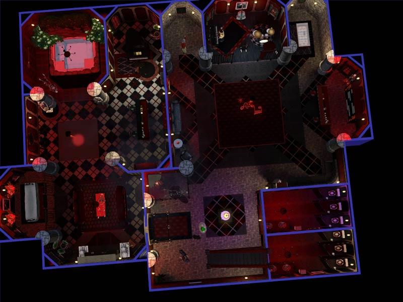 Mod The Sims Crypt Club An Underground Gothic