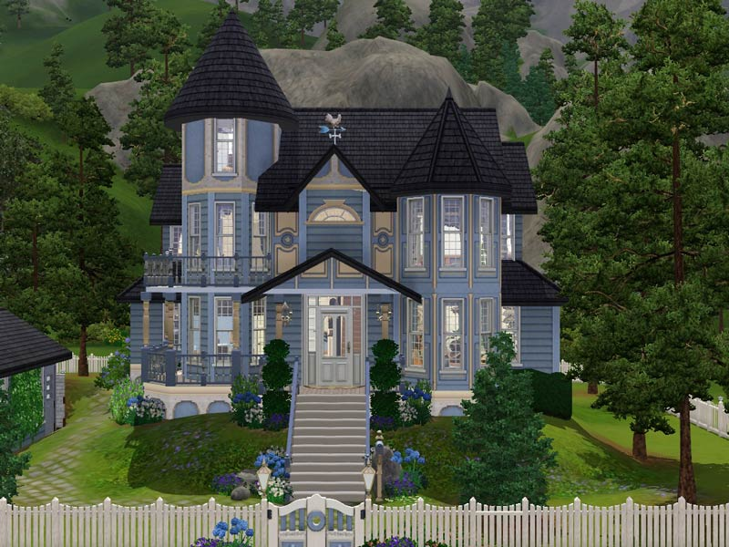 Mod The Sims Hummingbird Lane Victorian No Cc