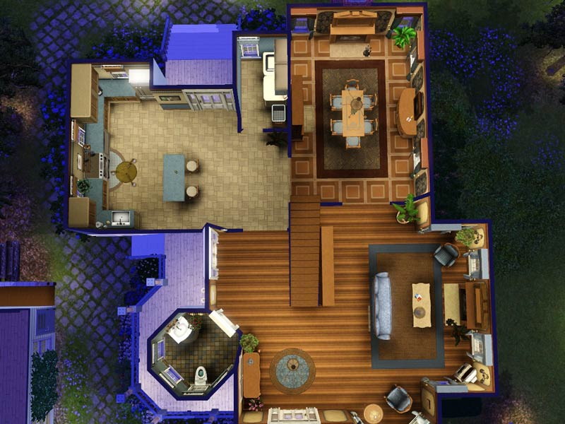 The Sims 1 Floor Plans