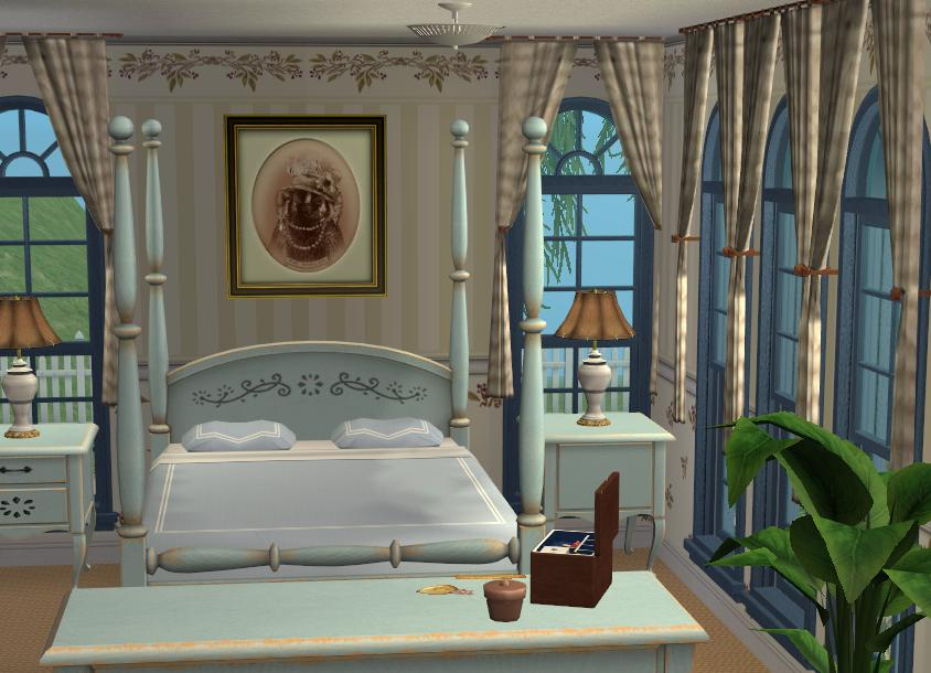 Mod The Sims Hillcrest Manor A 6 Bedroom Victorian Mansion
