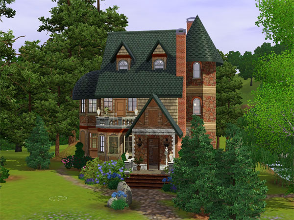 Mod The Sims The Enchanted Forest Cottage
