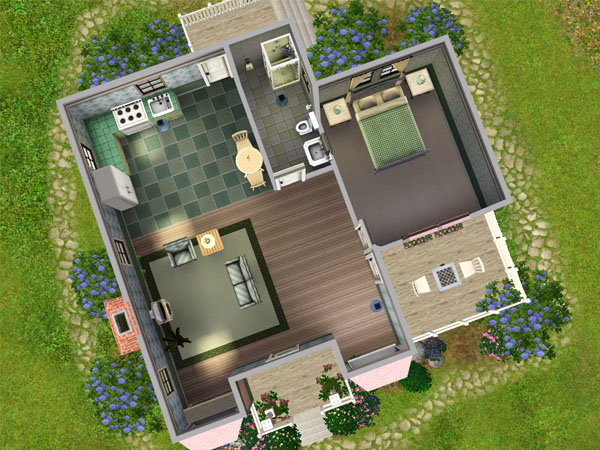 Mod The Sims Victorian Cottage Starter Under 16k Fully