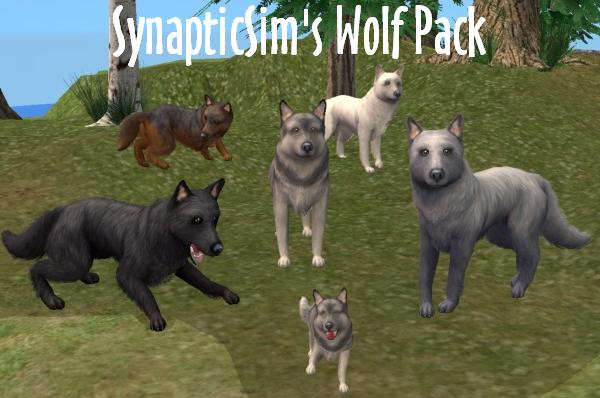 The Sims  Cats Dogs Werewolf