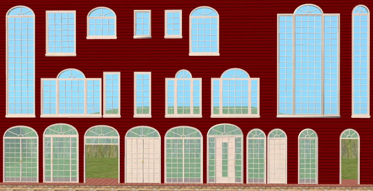 Mod the sims re do la fen tre window expansion set for Windows fenetre